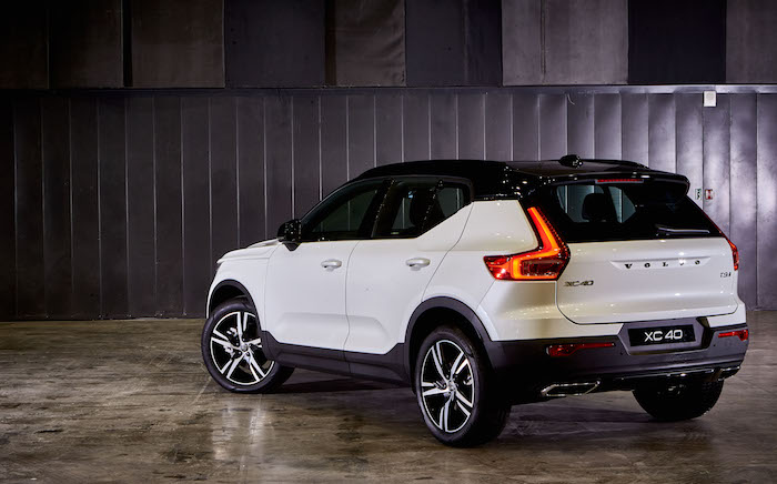The new Volvo XC40 10